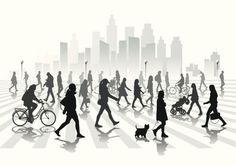 Resultado de imagem para people vida urbana