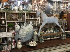 Sneak peek inside booth 22's holiday display at The Agoura Antique Mart! #holidays2016