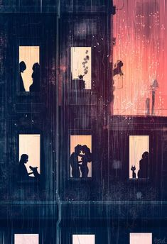 Tired and rainy I know, I know, I know. I've done a thousand images like this .but I'm tired and lazy today so that's what popped ou. Tired and rainy Free Vector Illustration, Love Illustration, Pascal Campion, Art Painting Gallery, Photo Couple, Wow Art, Amazing Drawings, 2 Instagram, People Art
