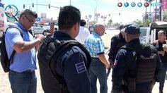 Pleito de terrenos Marina Armada de México y comerciantes de Manzanillo,...