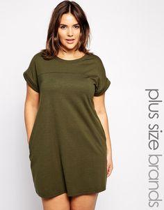 New Look Inspire Jersey T-Shirt Dress