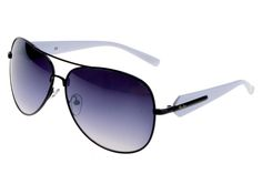 Ray Ban Aviator Modern RB3404 Purple White Sunglasses BHD