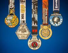 Trust Your Training – The Inaugural Star Wars Half Marathon Weekend presented by Sierra Nevada Corporation Finisher Medals Revealed
