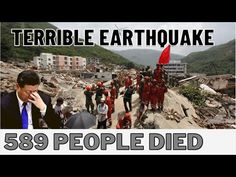 China's 6.1 magnitude quake left 589 dead, burying an entire city - YouTube