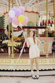 Miss Pandora - Louise Ebel Louise Ebel, Cherry Blossom Girl, Cherry Blossoms, Bubble Balloons, Pastel Balloons, Bubbles, Carnival Themes, Carnival Girl, Circus Theme