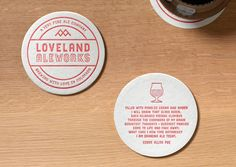 Loveland Aleworks Coasters