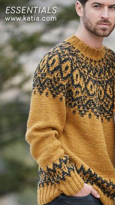 12 maglie lavorate ai ferri con una storia: scopri l'origine di alcuni modelli dai motivi tradizionali Knit Art, Winter Outfits Men, Knitting Stitches, Knit Patterns, Street Wear, Men Sweater, Mens Fashion, My Style, Sweaters