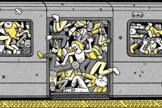 A plan to help suffering New Yorkers escape jam-packed cars and long delays.