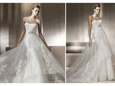 Pronovias Wedding Dresses: the 2012 Costura Bridal Collection | OneWed