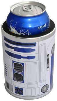 Star Wars - R2-D2 Metal Can Cooler / Stubby Holder