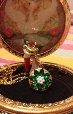 Anastasia Necklace Together In Paris Replica Flower Emerald Romanov Replica Handmade