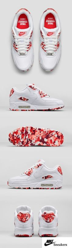 reputable site 4ee51 a82bb The Nike Air Max 90 City collection features shoes inspired by food and  beverage from New York, Paris, Tokyo, London, Shanghai and Milan.