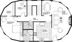 Deltec Homes- Floorplan Gallery.... If I ever get to build a house, this is the one I want!