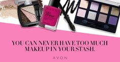 Avon pairs beauty and scientific innovation, resulting in products that provide superior performance and help women look and feel their best. Make sure you never run out of your Avon makeup essentials. #AvonRep