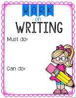 Freebie....Simply Skilled in Second: Work on Writing REVAMPED!