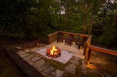 Enjoy this one of a kind fire pit with you in mind!