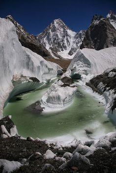 Karakoram Mountains, Pakistan.