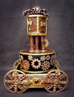 Steampunk wedding Cakes   Themed Wedding Cakes   A Wedding Cake Blog - Part 2