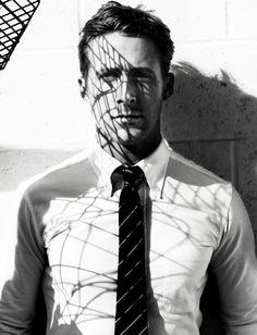 Ryan Gosling by Mario Testino
