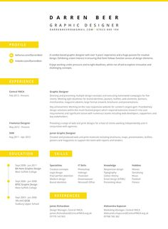 59 best résumé aesthetics images on pinterest resume design