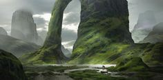ArtStation - The Giant's Archway, Eddie Mendoza