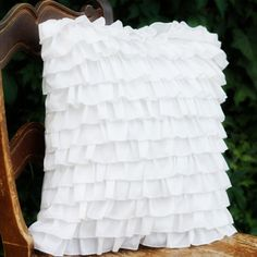 $12.95 Lovely Ruffle Pillow Cover ($30 Value) – Limited Quantity Available