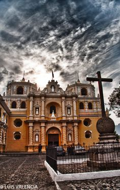 #Antigua Guatemala La Merced church