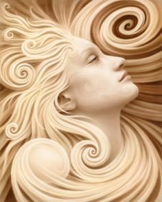 Spiral Reverie by Artist-Andrew Gonzalez creates amazing transfiguration, esoteric and visionary work. All work is pinned directly from the artist website. Art Nouveau, Wood Carving Art, Wow Art, Visionary Art, Sculpture Art, Amazing Art, Collages, Fantasy Art, Illustrator