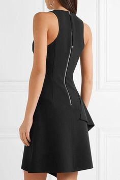 Elizabeth and James | Hattie asymmetric ruffled cady mini dress | NET-A-PORTER.COM