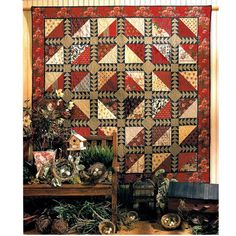 Return of the Swallows quilt pattern by Teri Christopherson at Black Mountain Quilts