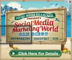 Social Media Marketing World in San Diego April 7-9  http://www.socialmediaexaminer.com/smmworld