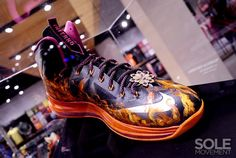 """Nike LeBron X """"Project Lion"""" Customs Exhibit at Nike Philippines"""