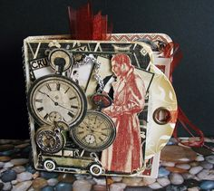 Mini Tag Album Graphic 45 A Proper Gentleman by Green Butterfly
