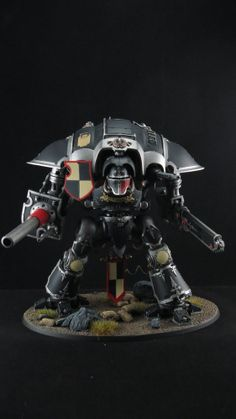 The Obsidian Knight , Freeblade Imperial Knight Painted Warhammer 40k (1 mini)