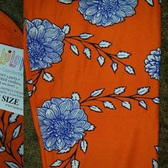 SOLD Lularoe Leggings Butter Soft I have to charge what I paid for all of my items. Most consultants have sold these and now new ones are hard to find so I buy from other sellers and sometimes end up with 2.  If you have not tried Lularoe yet you will love the softness. You won't want to take these off. Lularoe only makes 1000 items of each print so that means each Consultant only gets a certain number of leggings and shirts in each print. That is why they are hard to find after each…