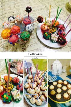 Our buyer calls these Lollicakes. Some call it Cakepops.   Now made easy with the Delish Treats Cake Pop Maker.  Click LIKE for fun baking  .