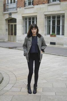 Parisian Streetstyle - Jeanne Damas