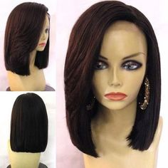 SHARE & Get it FREE | Medium Side Parting Straight Bob Synthetic WigFor Fashion Lovers only:80,000+ Items·FREE SHIPPING Join Dresslily: Get YOUR $50 NOW!