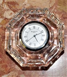 Waterford Small Octagon Clock Waterford https://www.amazon.com/dp/B078PMM1PZ/ref=cm_sw_r_pi_dp_U_x_.0rsAbHC0DR39