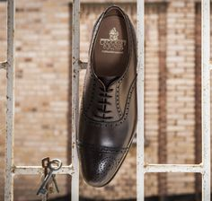 Crockett & Jones is a shoe manufacturing company, established in 1879 by Charles Jones and Sir James Crockett in Northampton, England.A Goodyear welt in their shoe assembly gave a high level of reliability and strength in the shoe. Buy latest collection of crockett and Jones on Ashton Marks.