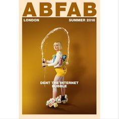 Move over Kim K, there's a new bum in town. And it's absolutely fabulous! #DentTheInternet #AprilFools #AbFabMovie #AbsolutelyFabulous #AbFab