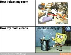 Cleaning process / iFunny :)