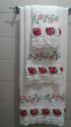barradinho para toalha de banho crochecombr - PIPicStats