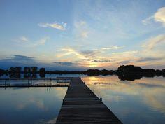 Strykowo. Jezioro Strykowsko-Sapowickie. photo by Joanna Kaczmarek