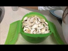 Veggie Recipes, Green Beans, Microwave, Cabbage, Food And Drink, Vegetables, Vegetarian Food, Healthy Food, Eating Clean