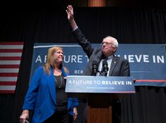 Jane Sanders is central in her husband's surging campaign