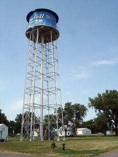 South Dakota Tyndall Water Tower