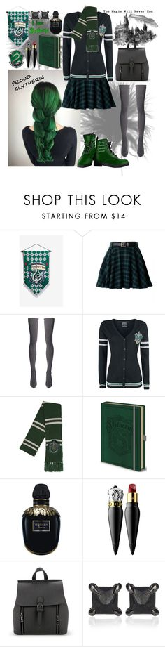 When going to Hogwarts, and you know you're gonna be in Slytherin. Mode Harry Potter, Harry Potter Style, Harry Potter Outfits, Harry Potter Universal, Harry Potter World, Slytherin House, Slytherin Pride, Hogwarts, Fandom Outfits