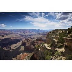 Beautiful vista of Grand Canyon from Hopi Point Arizona Canvas Art - Terry MooreStocktrek Images (18 x 12)