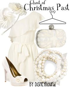 Ghost of Christmas Past by disneybound